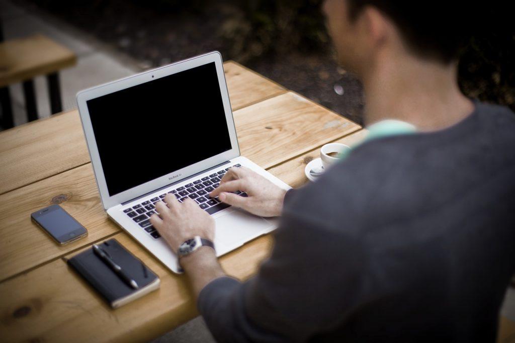 blogging, blogger, office